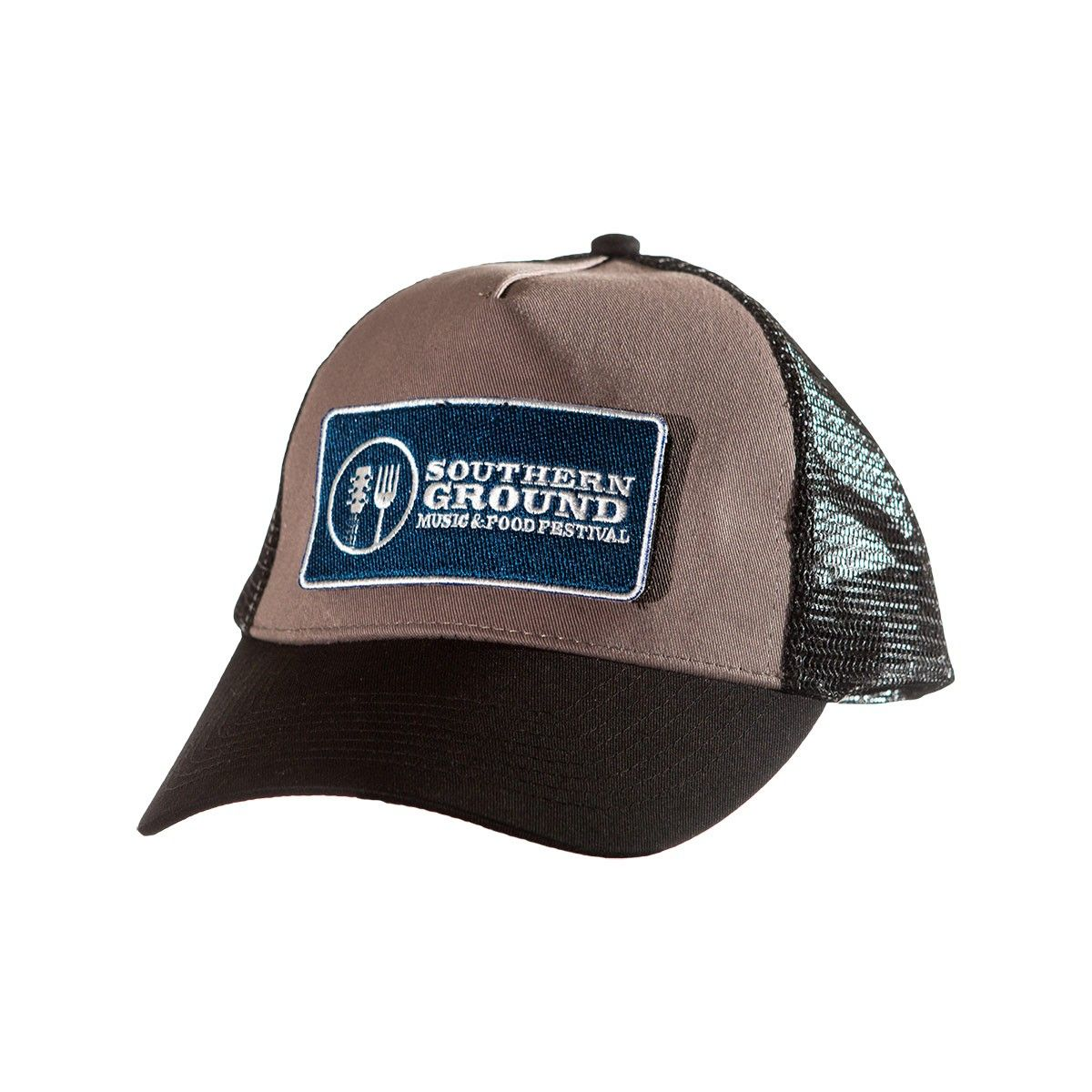Velcro Trucker Hat with Southern Ground Music   Food Festival Patch ... 67a424a1e4d