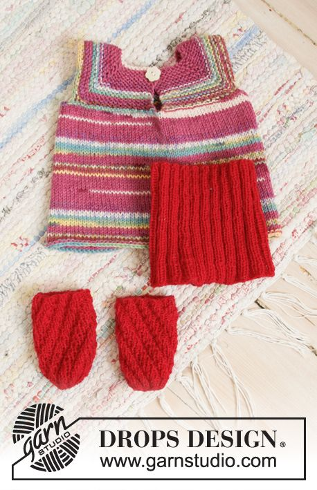 Disco Cora / DROPS Children 35-16 - Free knitting patterns by DROPS Design