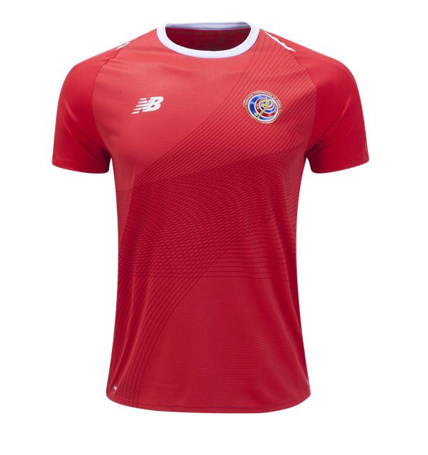 407565ab002 CAMISETA COSTA RICA 1ª EQUIPACIÓN 2018 costarica  shirts  shorts  football