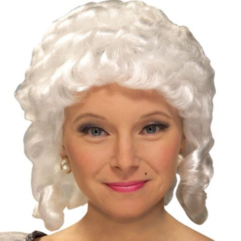 womens colonial wig party city 20