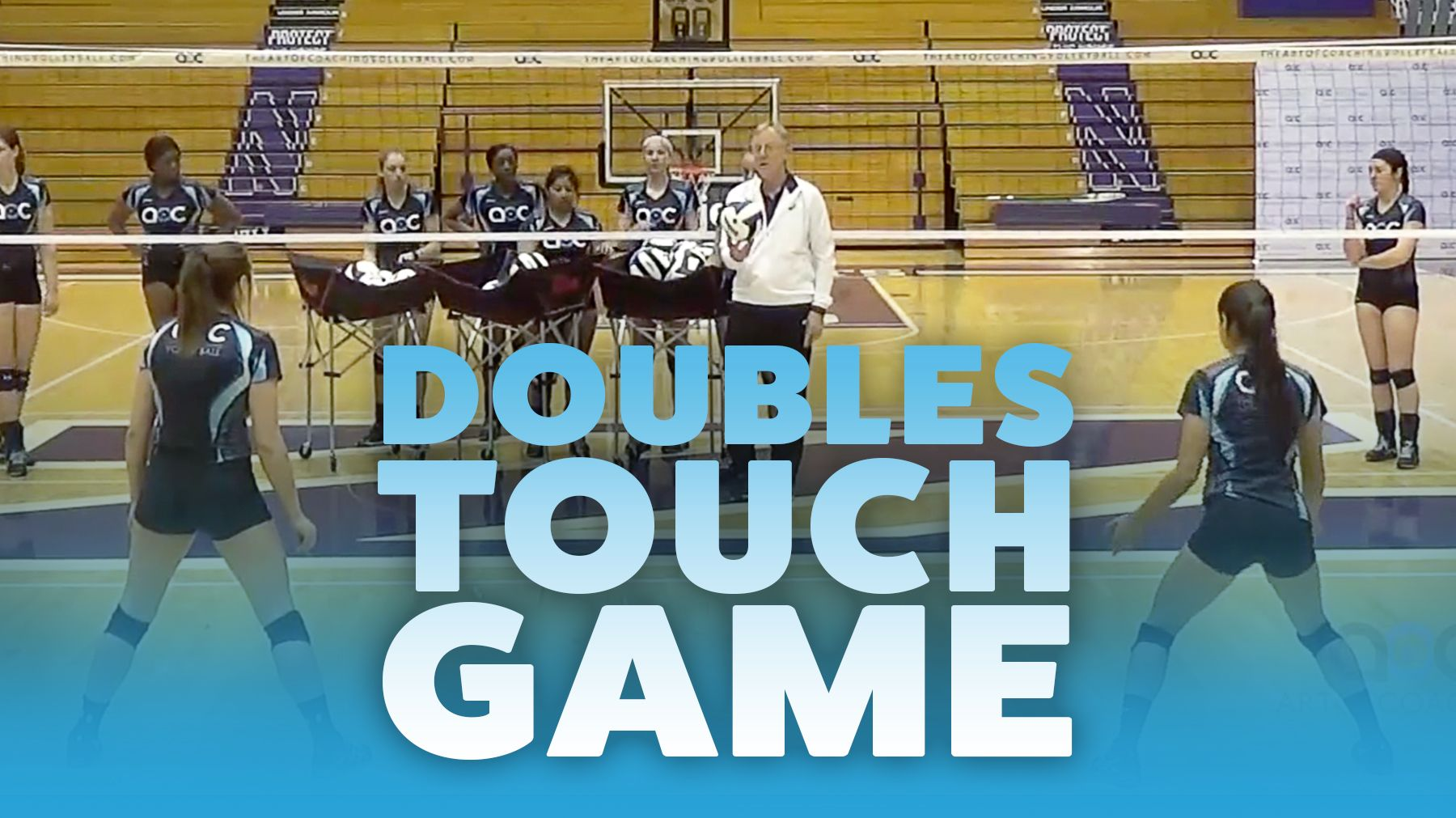 John Dunning Doubles Touch Game Coaching Volleyball Volleyball Workouts Volleyball Conditioning