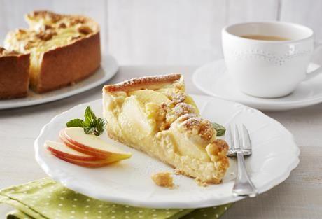 Apfel Marzipan Kuchen Rezept Torten Apfel Marzipan Kuchen