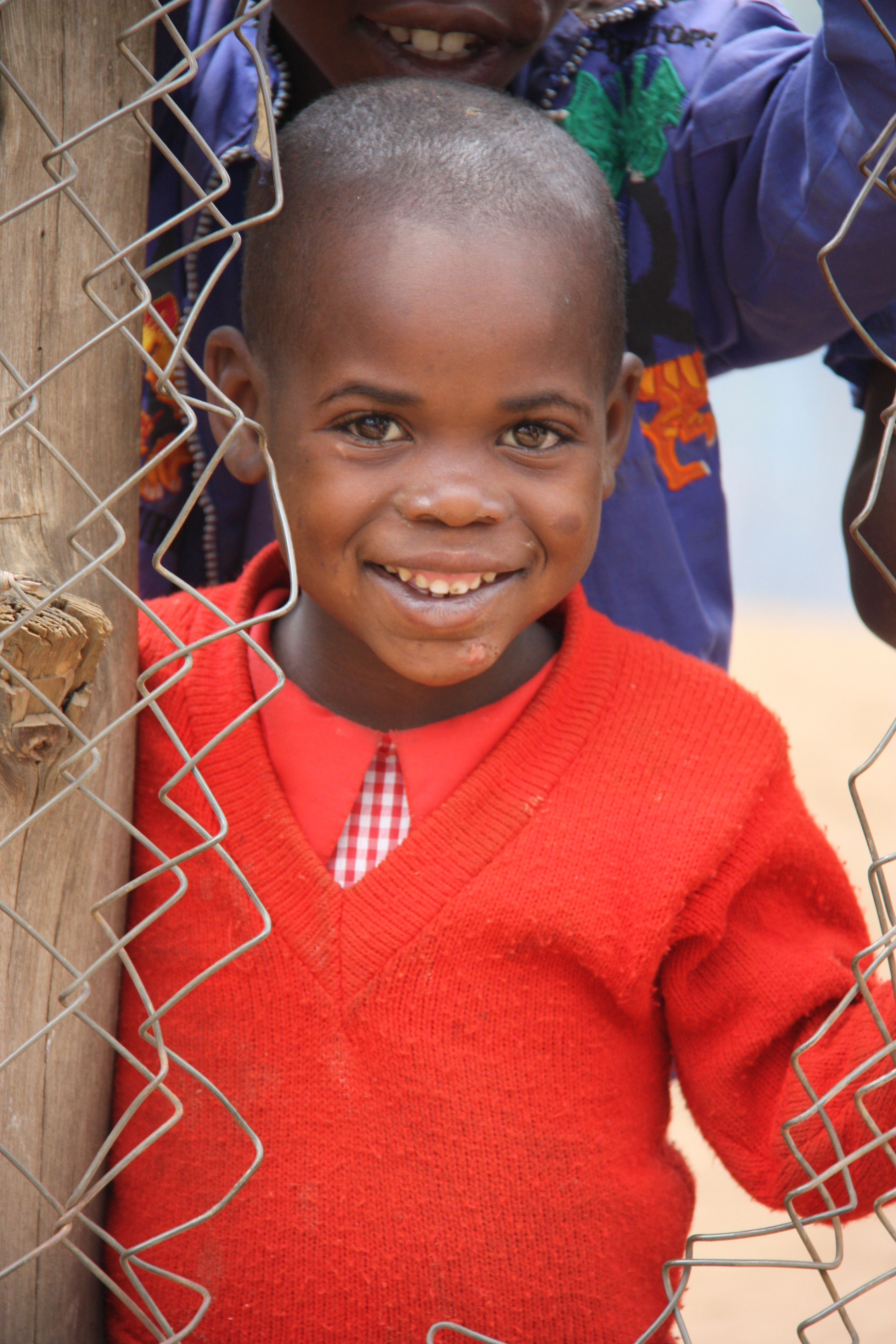 Ugandan child at New Times School, Bufundi Care Point