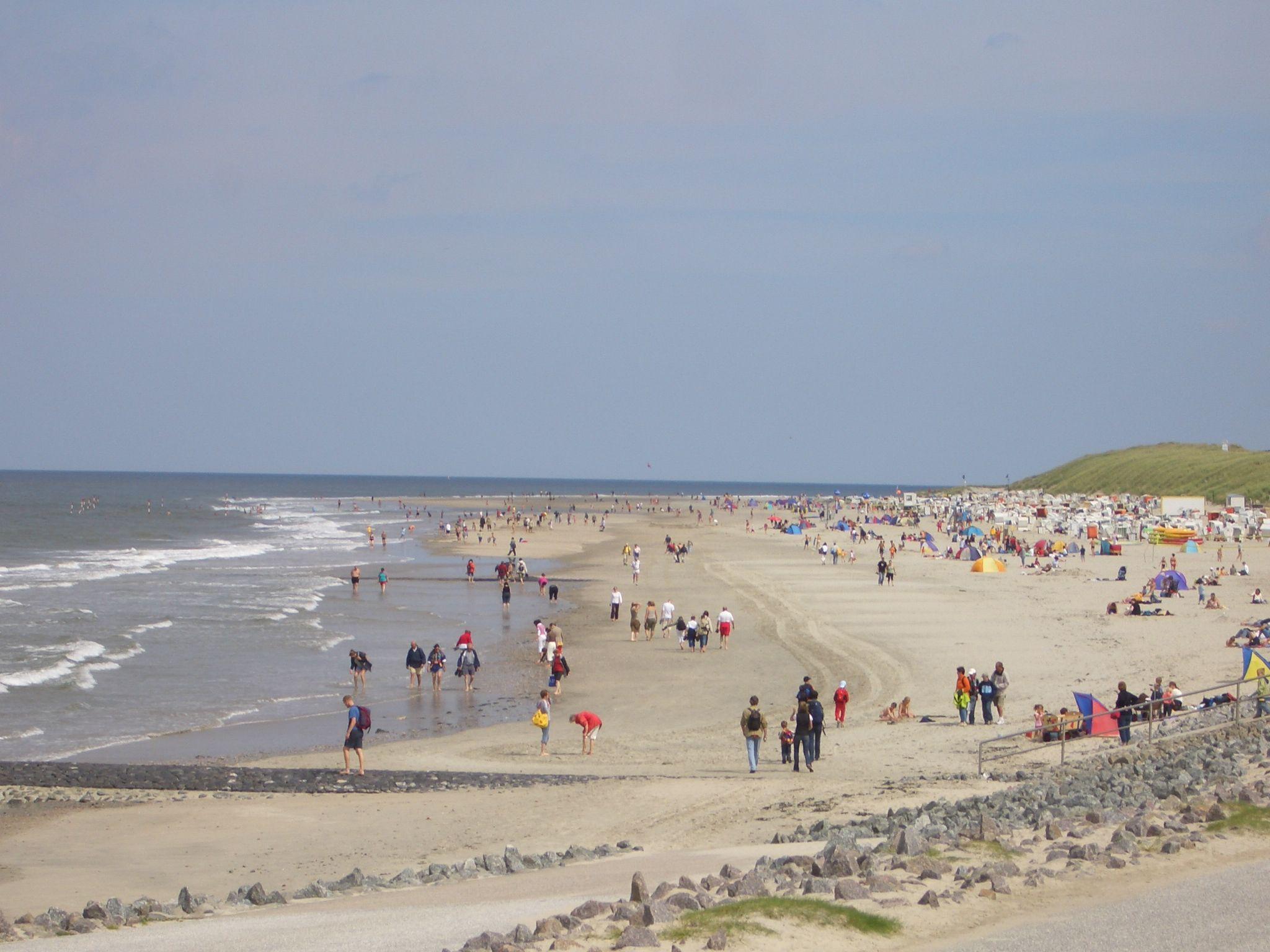 Strand in Norden - Norddeich // Nordsee Deutschland ...