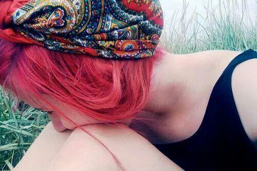 Картинка с тегом «girl, hair, and red»