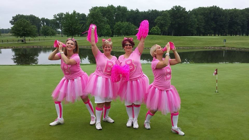 cancer breast golf Womens calendar