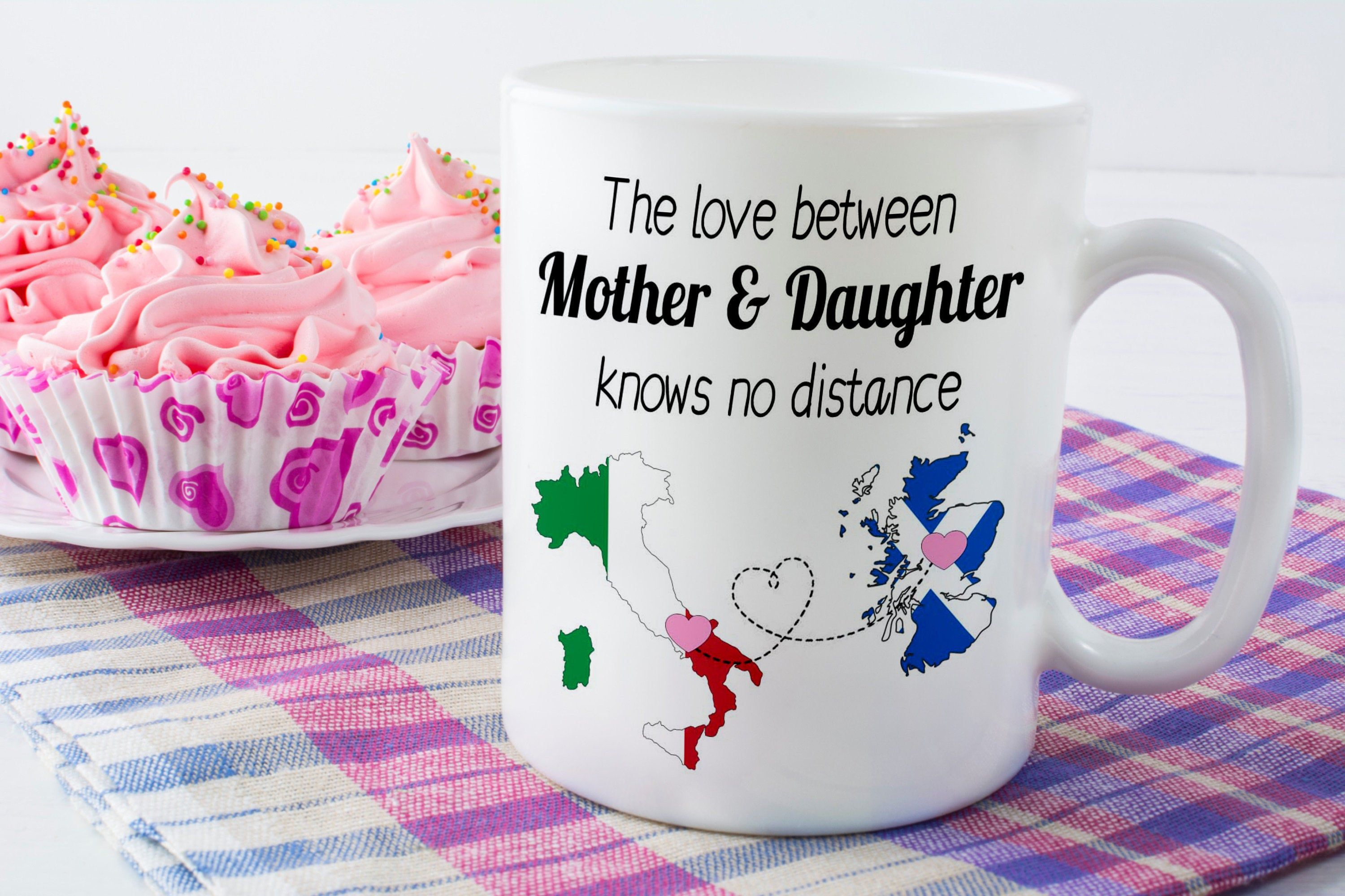 Long Distance Mug the perfect Mother and Son long distance