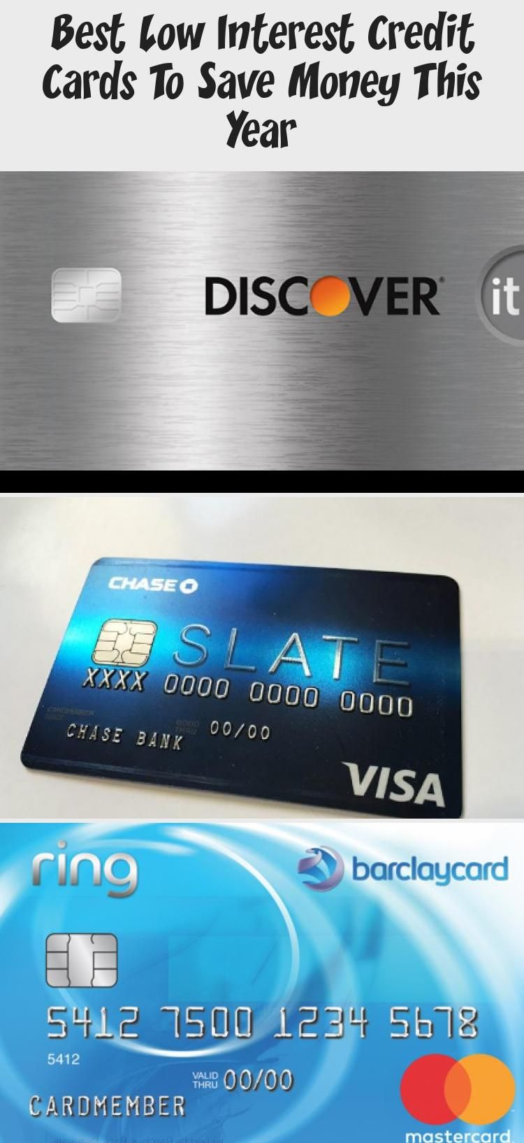 Best Low Interest Credit Cards To Save Money This Year In 2020