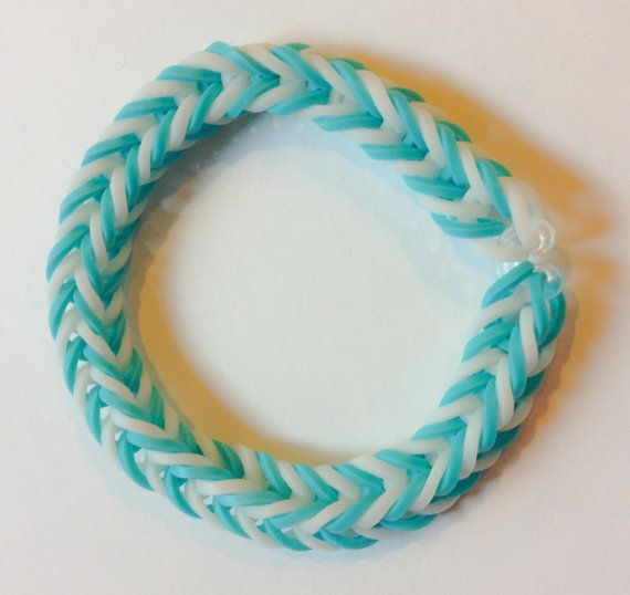 Rainbow Loom Fishtail Rubber Band Bracelet by BCsBracelets ...