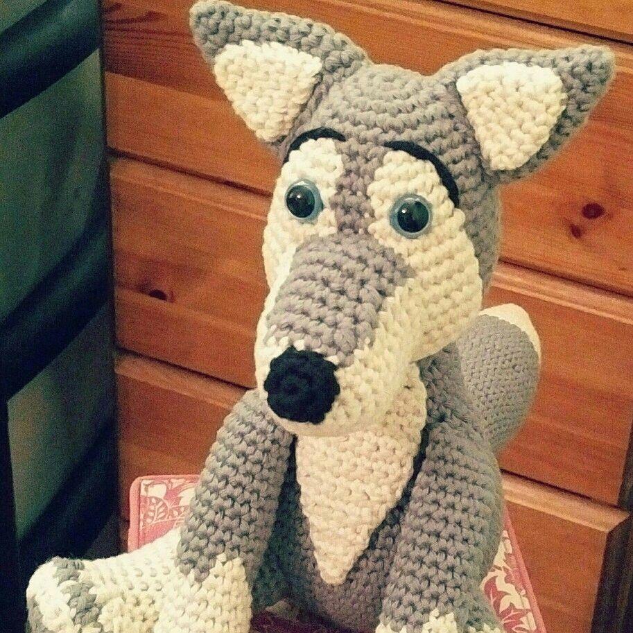crochet #amigurumi #wolf | Little Green Bear Crochet Amigurumi ...