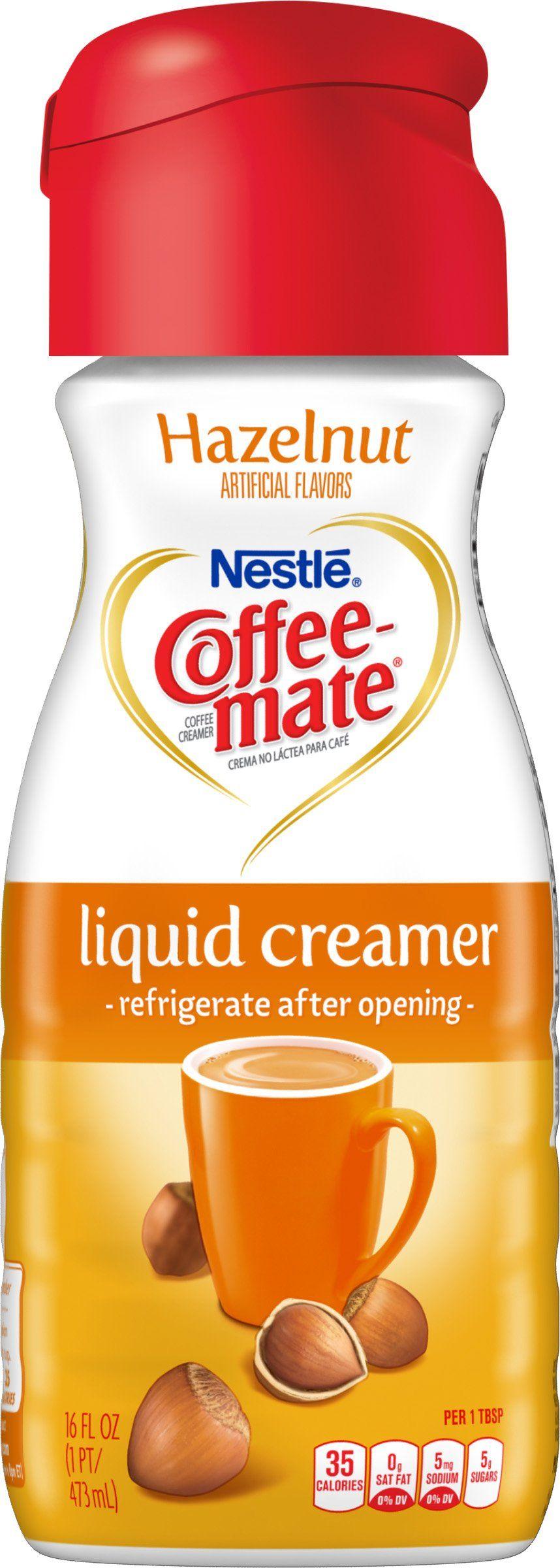 Coffeemate hazelnut liquid coffee creamer 16 fluid ounce