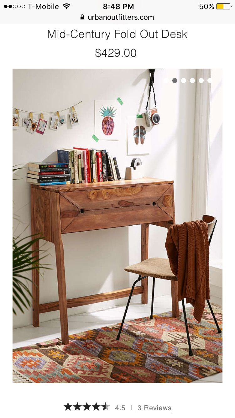 Pull out desk•URBAN OUTFITTERS