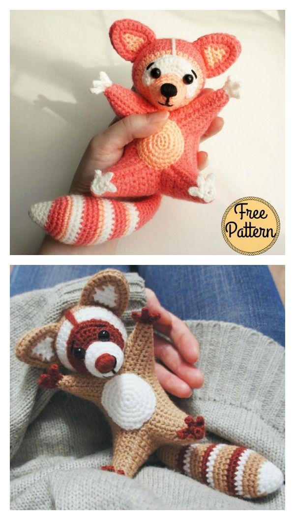 Raccoon Amigurumi Free Crochet Pattern Pinterest Raccoons Free