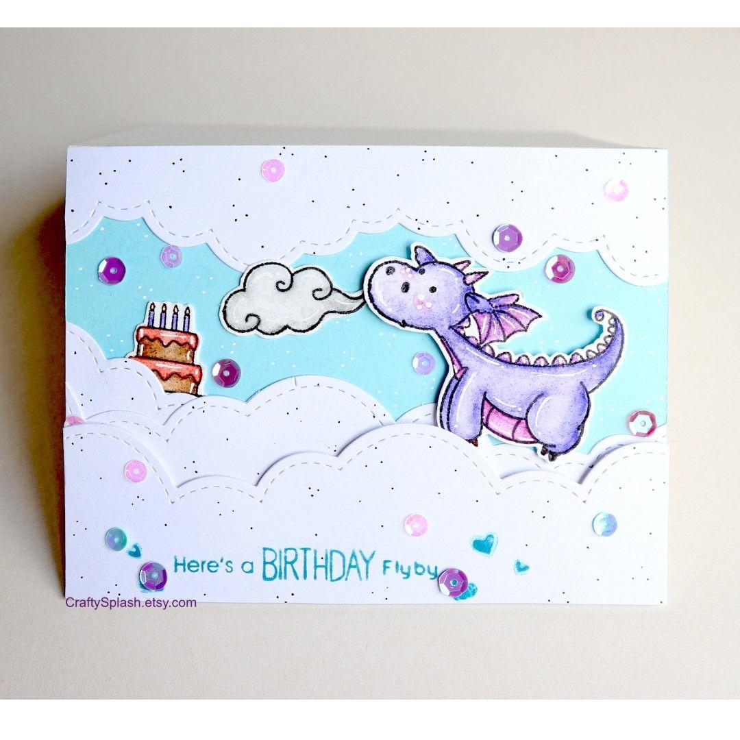 Buy Handmade Birthday Card Dragon Gift For Children Gifts Cake