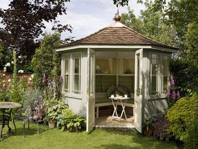 Die schönsten Pavillons Harmonie im Garten - Wohnen \ Garten - gartenpavillon selber bauen