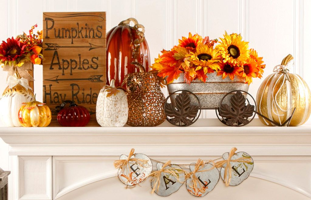 Harvest Decor Traditional or Contemporary Fall harvest and Decorating