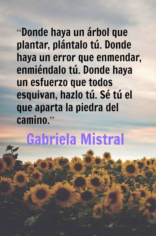 11 ideas de Gabriela Mistral | gabriel mistral, premio nobel de literatura, gabriela  mistral poemas