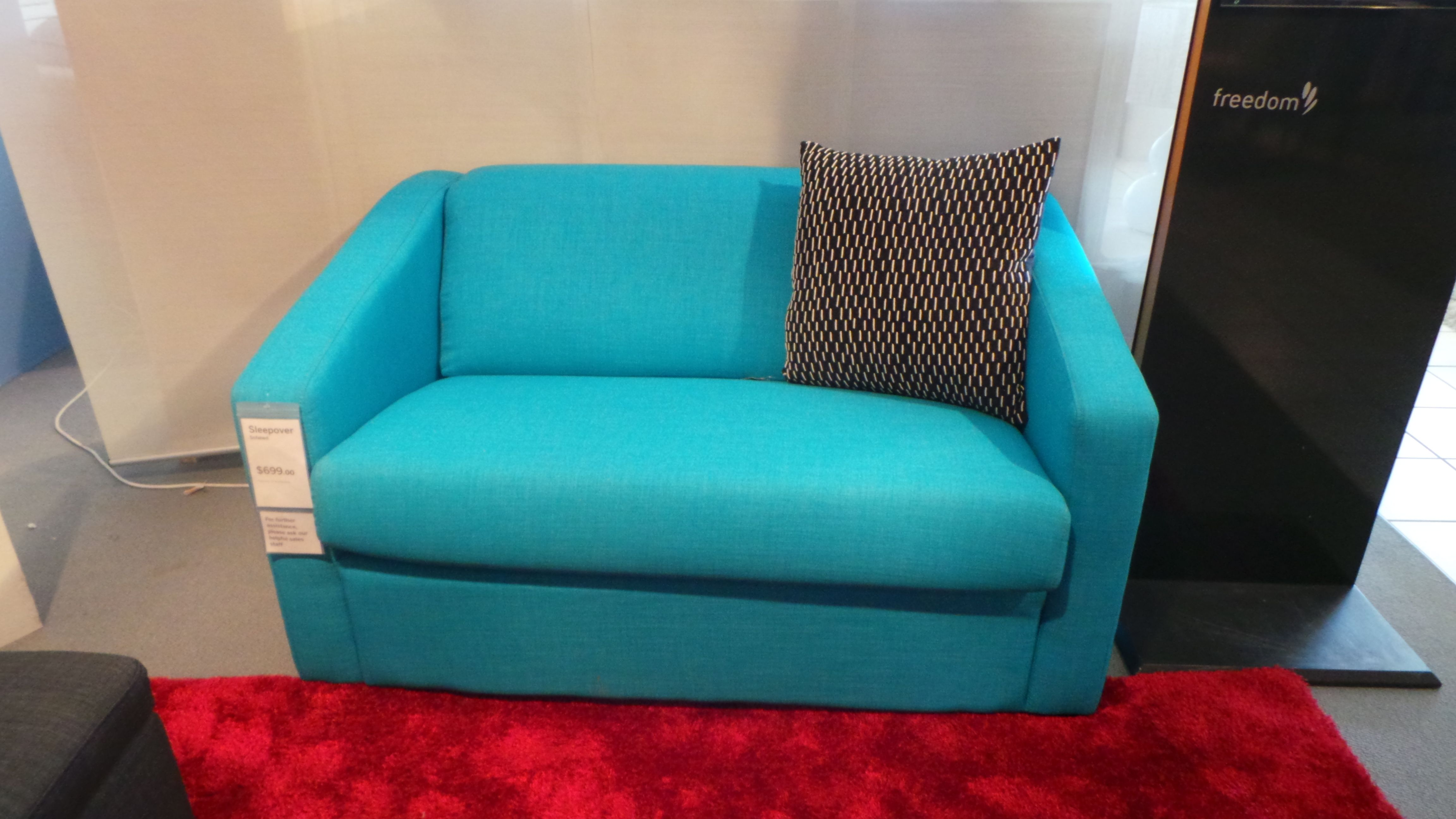 Turquoise Sofa Bed Freedom Furniture Room Pinterest
