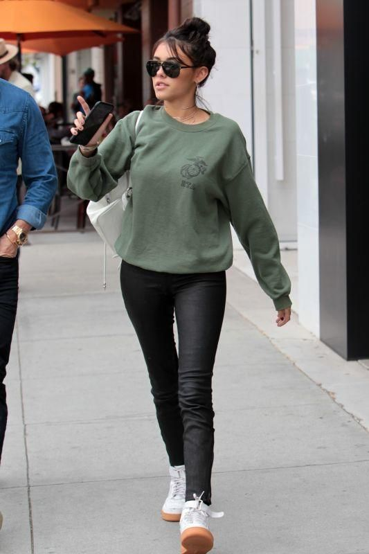 Selena Gomez looks comfy in oversize cardigan over clinging
