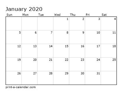 Make Your Own 2018 2019 Or 2020 Printable Calendar Pdf Calendar Printables Printable Calendar Pdf Monthly Calendar Template