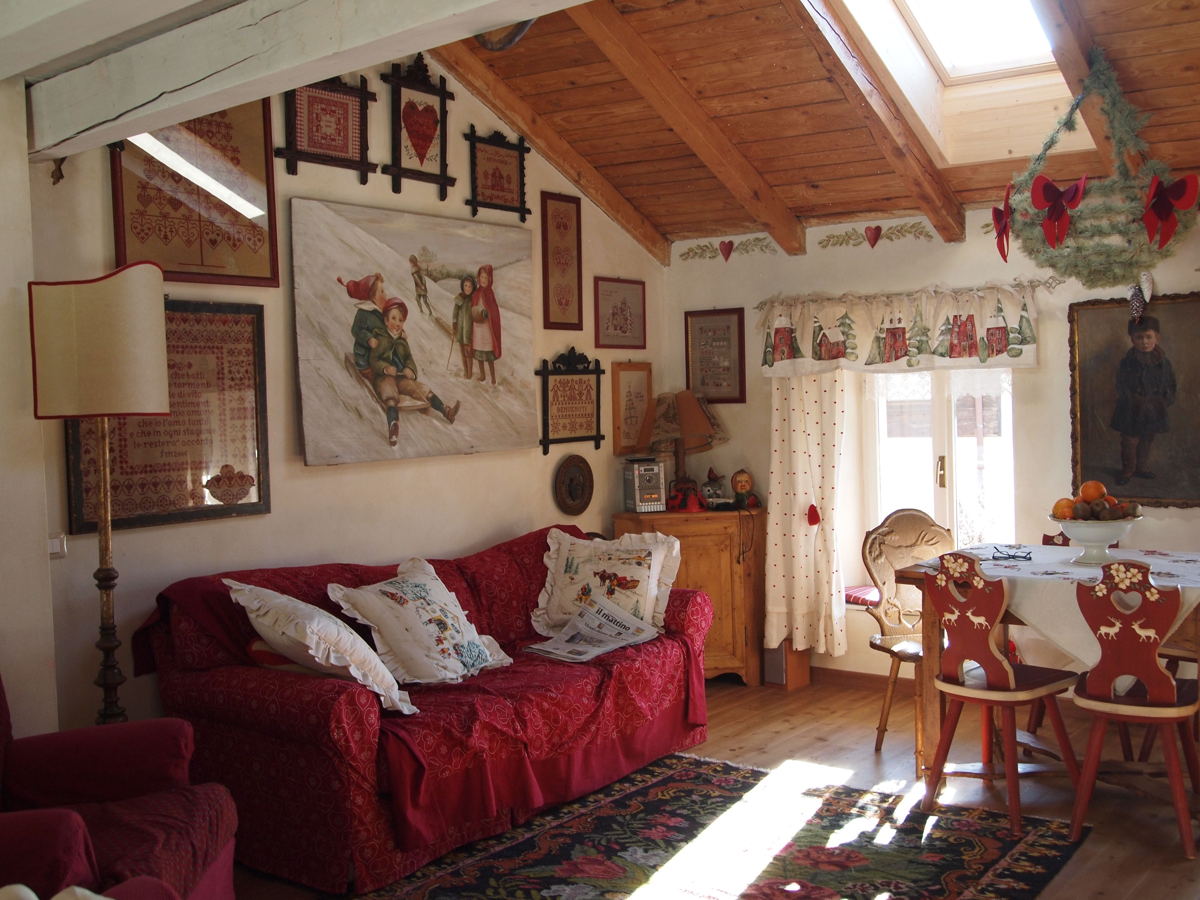 Arredo interno casa di montagna homesweethome pinterest interiors - Casa montagna arredo ...