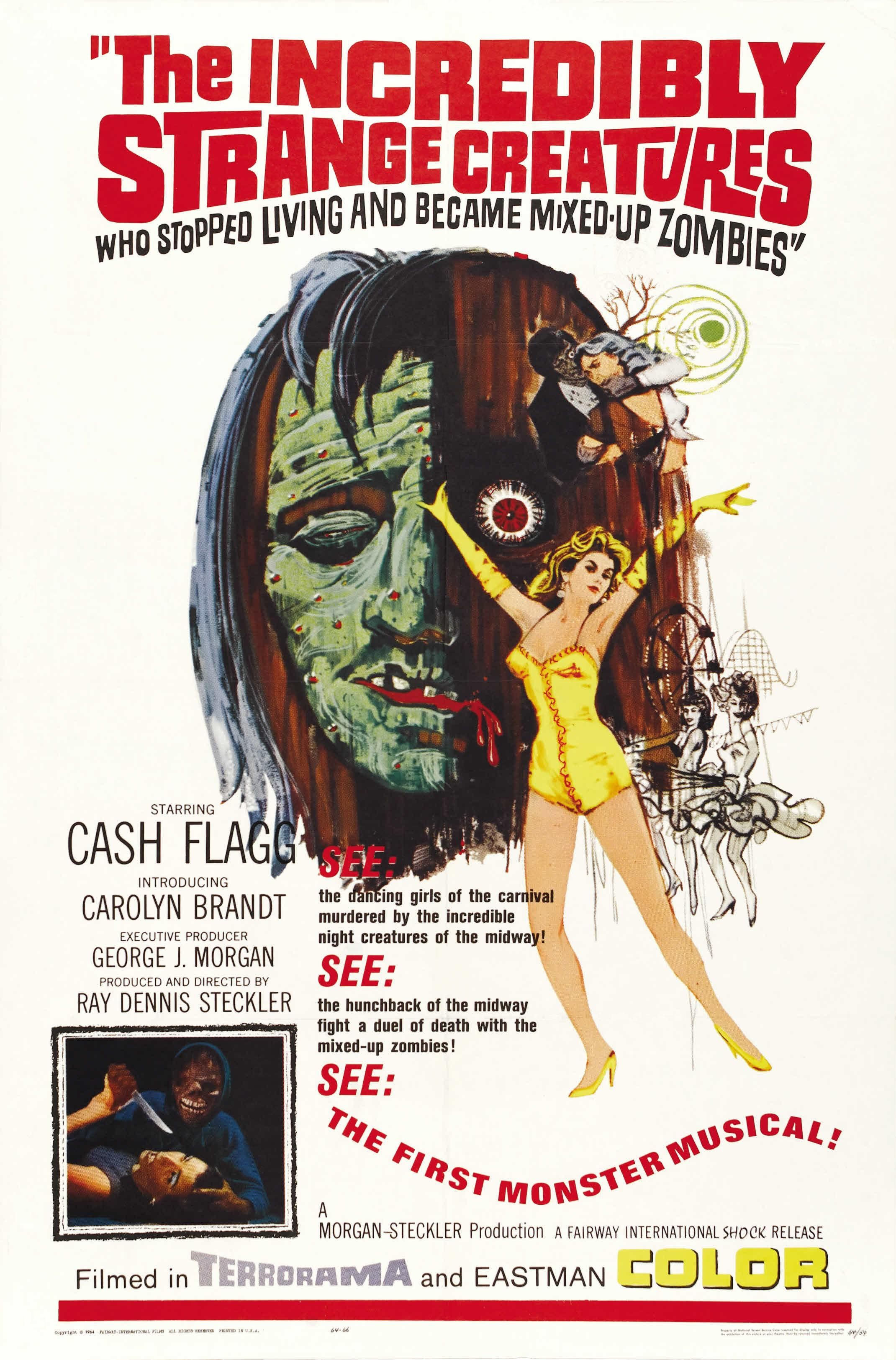 The Incredibly Strange Creatures...1964 Creature movie