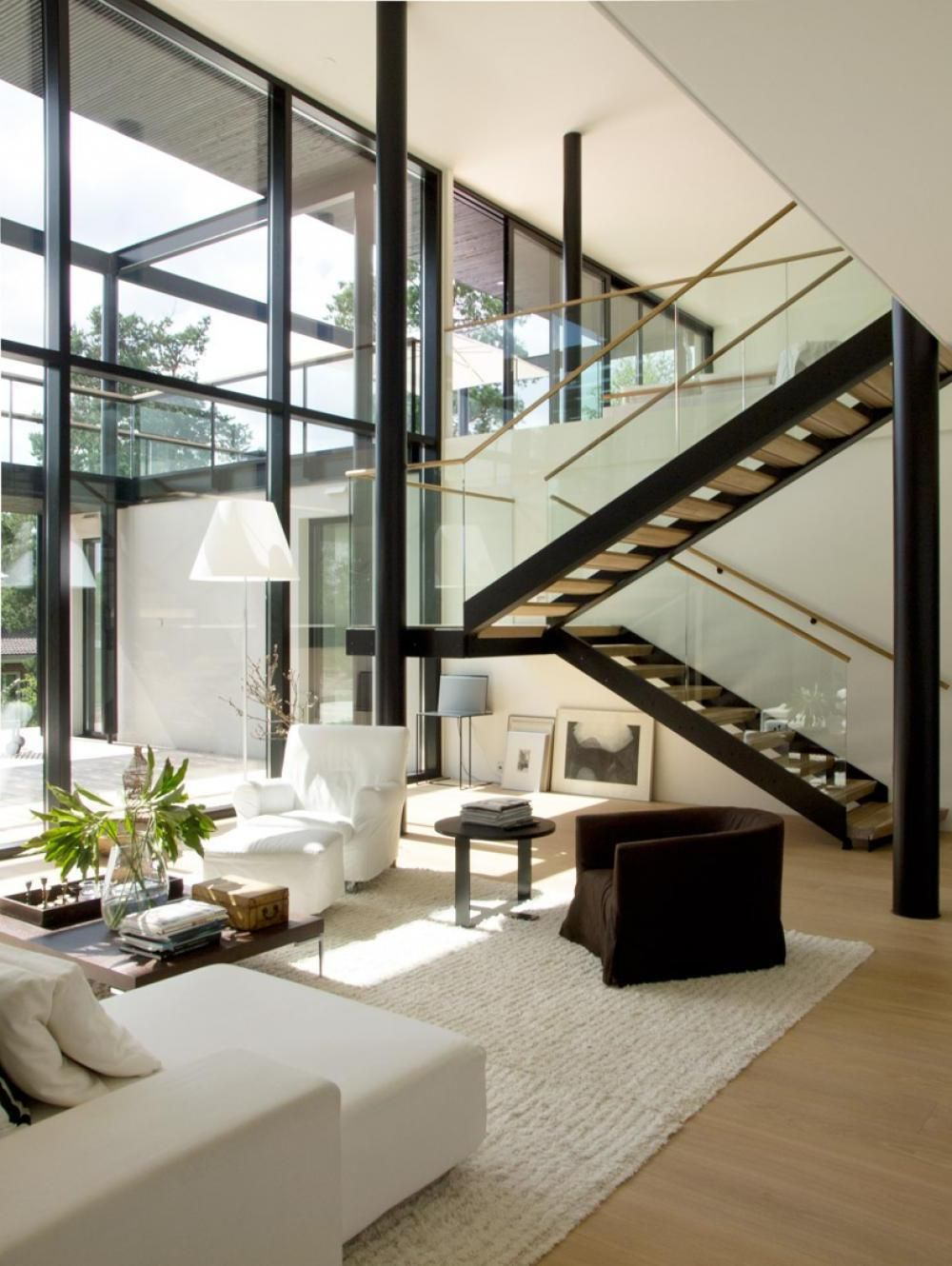 High Ceiling Living Room Designs Exterior  Awesome House Decoration With Downstairs Living Room