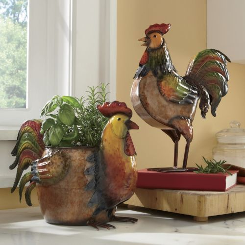 Rooster Kitchen Decor French Country: Rise N Shine Rooster Accents From Seventh Avenue