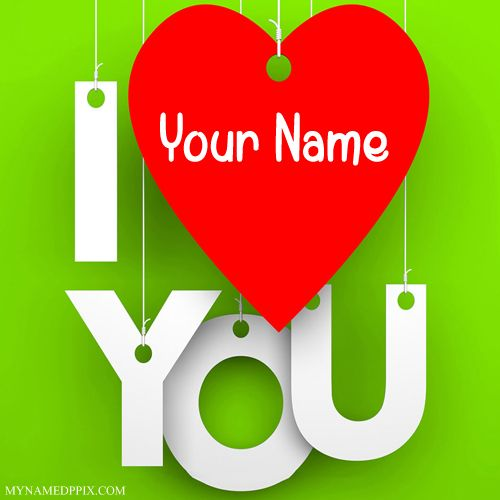 Print His Or Her Name Love U Profile Image Online Write My I