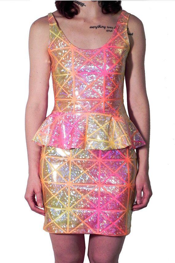 Tequila Sunrise Peplum Dress Disco | STYLE IS STYLE 2 (SECOND ...