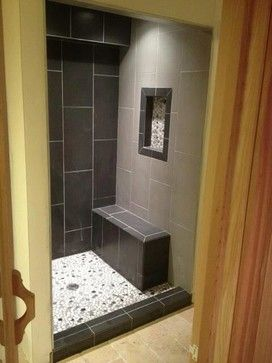 Modern Steam Shower Contemporary Bathroom  Bathrooms  Pinterest New Contemporary Bathroom Tile Designs Design Inspiration