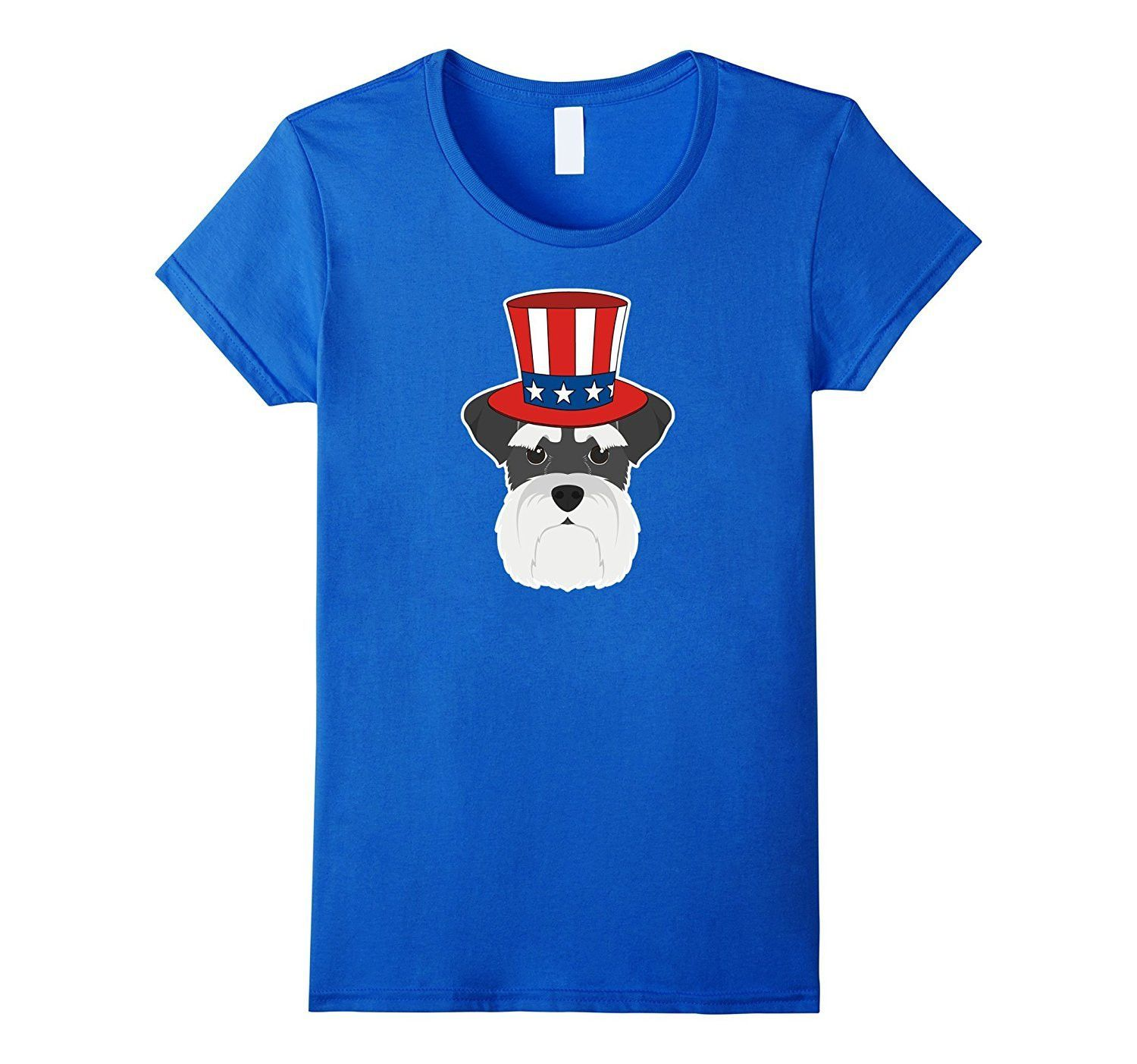 The th of july patriotic schnauzer dog lover tshirt products