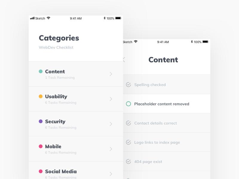 Web Dev Checklist Checklist, Webdev, Mobile logo