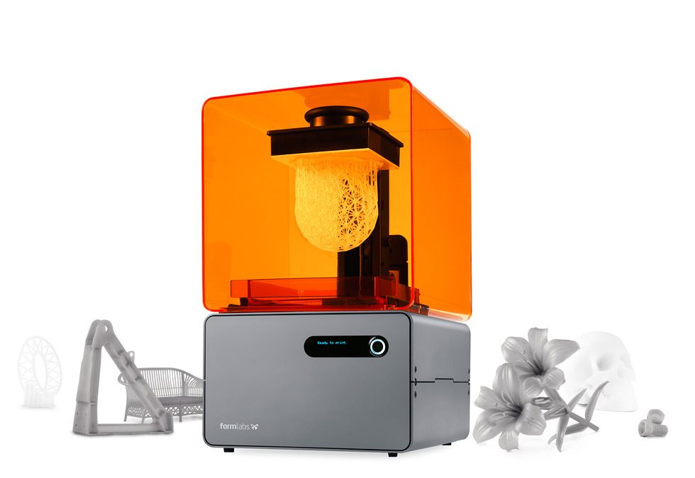 Form 1+ Desktop SLA 3D-Drucker Produktinformationen – Formlabs | 3D ...