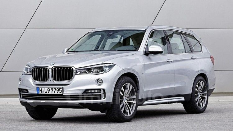 Bmw X7 Rendering Takes Cues From X5 And 7 Series Bmw X7 New