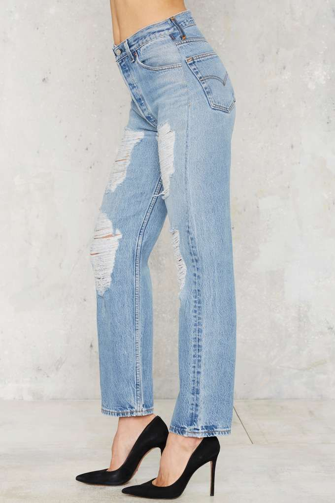 After Party Vintage Levi's 501 Jeans - Distressed - Clothes | After Party | Denim | Distressed