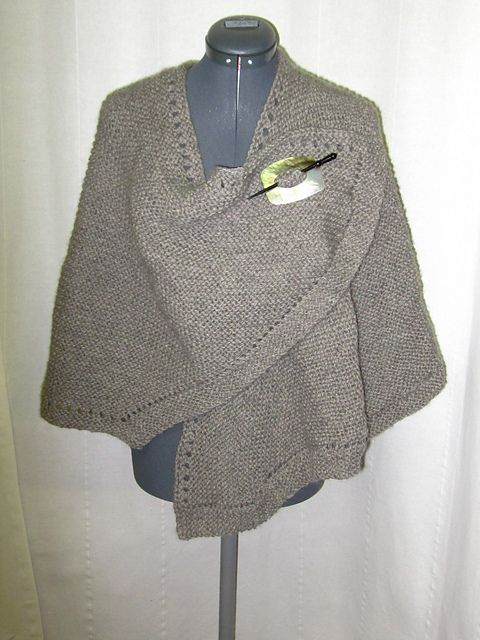 Knit Ruana Pattern By Annie Dempsey Ravelry Yards And Patterns