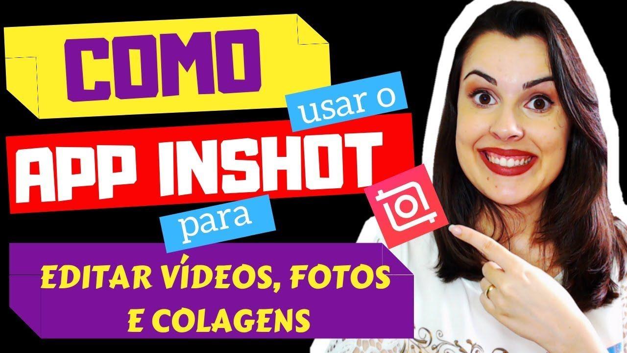 🤩 Como usar o inshot Como usar o app inshot por Luana