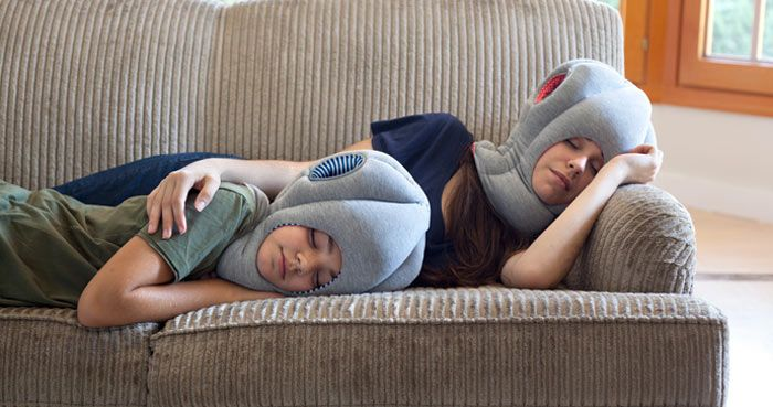 Ostrich Pillow by Studio Banana Things. Great design for any occasion! Read more at jebiga.com