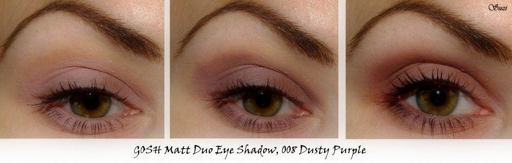 GOSH Matt Duo Eye Shadow on eyes - 007 | Make-Up