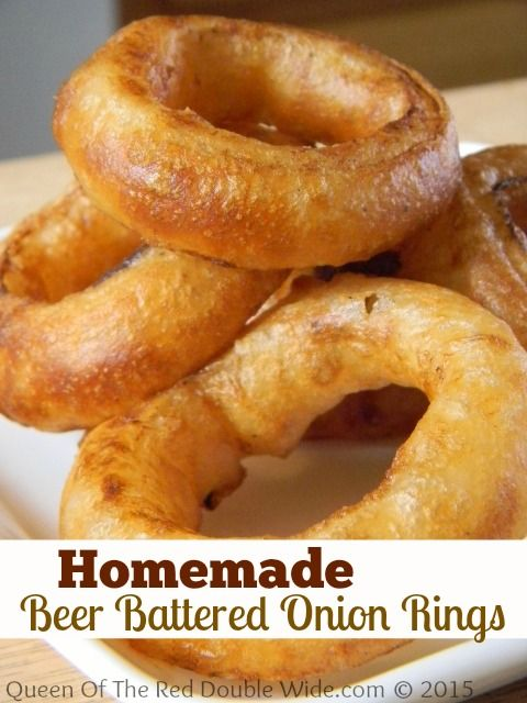 beer battered onion rings american recipes pinterest. Black Bedroom Furniture Sets. Home Design Ideas