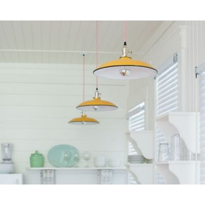Ivanhoe™ Sinclair Porcelain Pendant   Shallow Bowl Barn ...