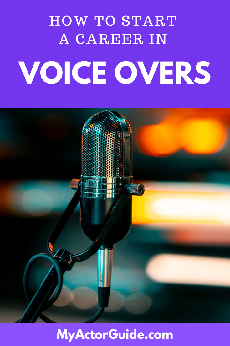 How To Start A Career In Voice Over In 2020 The Voice Voice Acting Career Acting Scripts