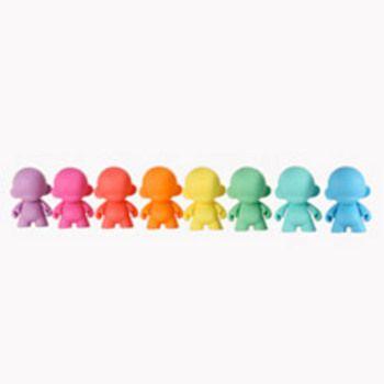 New Kid Robot mini MUNNY Multicolor 4-inch