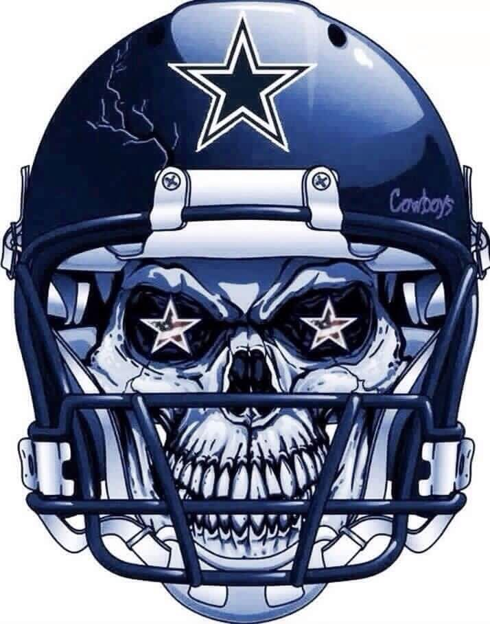 16d2c2de DC4L Skull Helmet, Car Bumper Stickers, Dallas Cowboys, Football Helmets,  Nfl,
