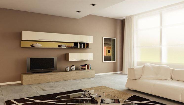 Pittura pareti tortora una scelta stanza per dipingere for Dipingere soggiorno idee
