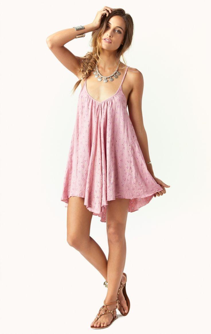 Blue Life Slip Cami Dress | Nic del Mar | Vestiditos Hermosos ...