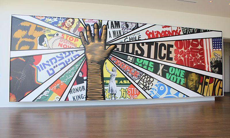 Center For Civil And Human Rights In Atlanta Ga School Murals Human Rights Mural