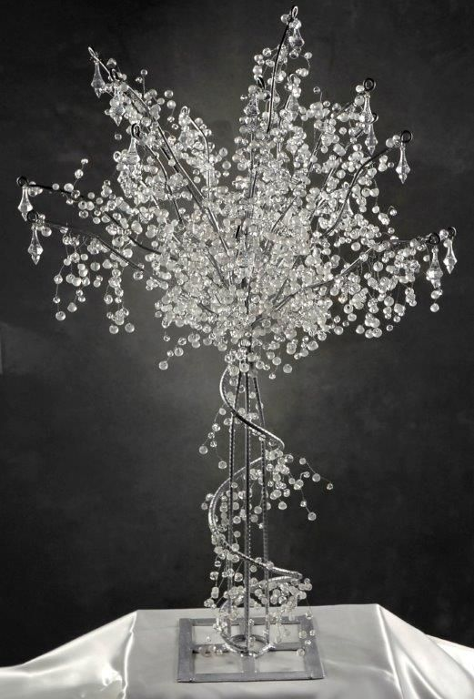 Crystal Decorations | Display, Crystals and Wedding trees