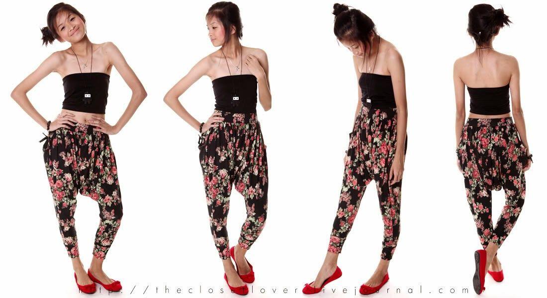 DIY: harem pants o pantalones aladdin | Costura | Pinterest | Yo ...